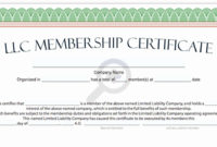 Certificate Templates Certificate Of Ownership Sample within Best Ownership Certificate Templates