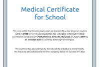 Certificate Templates Fake Medical Certificate Template Free with regard to Awesome Free Fake Medical Certificate Template