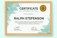 Certificate Templates for Quality Templates For Certificates Of Participation