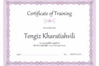 Certificate Templates regarding Microsoft Word Certificate Templates