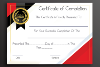 Certificateofcompletion4 within Certificate Of Completion Free Template Word