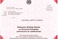 Certificates In Safe Driving Certificate Template  Sample within Free Safety Recognition Certificate Template