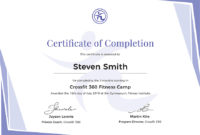 Certificatetrainingcompletioneditableworddocprintable for Printable Training Completion Certificate Template