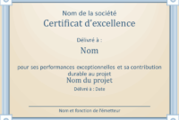 Certificats  Office with regard to Quality Felicitation Certificate Template