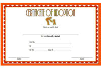 Child Adoption Certificate Template Editable 10 Best pertaining to Free Stuffed Animal Adoption Certificate Editable Templates