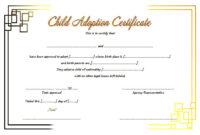Child Adoption Certificate Template Editable 10 Best throughout Best Child Adoption Certificate Template