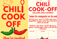 Chili Cookoff Insider Another Free Invite Scorecard intended for Free Chili Cook Off Award Certificate Template Free