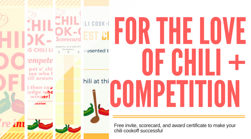 Chili Cookoff Insider Another Free Invite Scorecard with Chili Cook Off Award Certificate Template Free