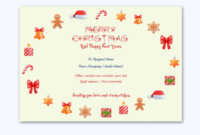 Christmas Gift Certificate Template Circle 1889 regarding Free Merry Christmas Gift Certificate Templates