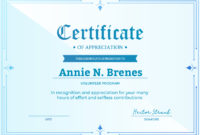 Church Certificates And Award Templates  Simplecert within Amazing Volunteer Of The Year Certificate Template