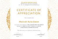 Churchcertificateforappreciationeditabletemplate for Anniversary Certificate Template Free