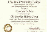 College Diploma Template  Business Mentor within Fake Diploma Certificate Template