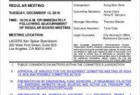 Committee Agenda Template  9 Free Word Pdf Documents inside Safety Committee Meeting Agenda Template