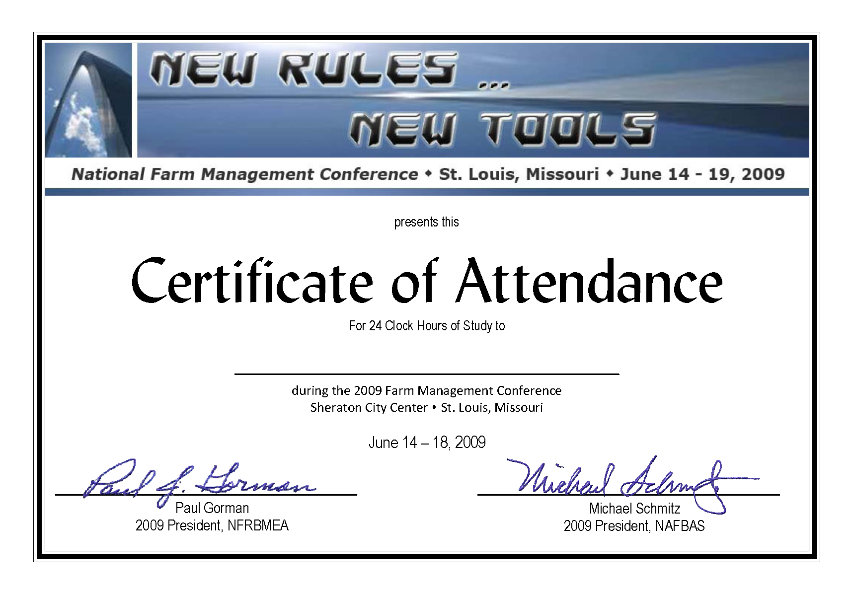 Conference Certificate Of Attendance Template  Best within Free Certificate Of Attendance Conference Template