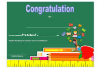 Congratulations Certificate Templates 10 Latest Designs with regard to Awesome Congratulations Certificate Template