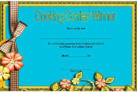 Cooking Competition Certificate Templates  7 Best Ideas for Amazing 10 Science Fair Winner Certificate Template Ideas