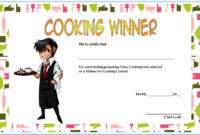 Cooking Competition Certificate Templates  7 Best Ideas inside Best Chef Certificate Template Free Download 2020