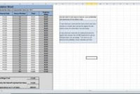 Cost Analysis Spreadsheet Templates  Downloads  Eloquens pertaining to Printable Cost Of Goods Sold Spreadsheet Template