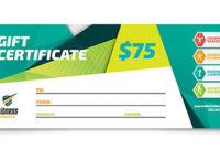 Create Designer Gift Certificates With Printable Templates with regard to Free Fitness Gift Certificate Template
