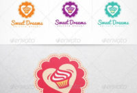 Cupcake Confectionery Sweet Shop Logo Design Template in Quality Cupcake Certificate Template Free 7 Sweet Designs
