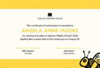 Cupcake Kid Contest Award Certificate  Templatescanva with regard to Baby Shower Winner Certificates