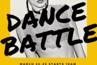Customize 51 Dance Poster Templates Online  Canva in Hip Hop Dance Certificate Templates