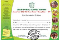 Dance Certificate Template Mandegar Intended For Dance throughout Dance Award Certificate Template
