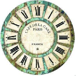 Decopaula  Relojes De Pared Reloj Decoracion Y Reloj throughout Free Agenda Template With Roman Numerals