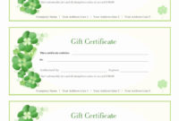 Design Your Own Gift Certificate Awesome Design Your Own with regard to Company Gift Certificate Template