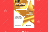 Diploma Best Employee Of The Month Golden Template With regarding Free Tattoo Certificates Top 7 Cool Free Templates
