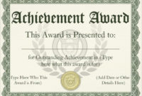 Doctemplateawardcertificates throughout Manager Of The Month Certificate Template