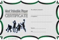 Download 10 Basketball Mvp Certificate Editable Templates inside Basketball Gift Certificate Templates