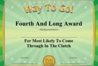 Download 101 Funny Certificates To Give Family Friends in Free Free Printable Funny Certificate Templates