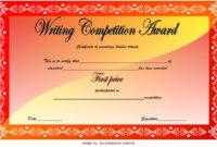 Download 12 Winner Certificate Template Ideas Free pertaining to Best Handwriting Award Certificate Printable