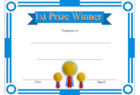 Download 12 Winner Certificate Template Ideas Free with Writing Competition Certificate Templates