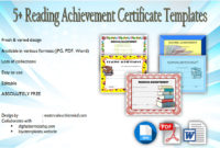 Download 5 Reading Achievement Certificate Templates Free pertaining to Amazing Accelerated Reader Certificate Templates