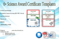 Download 6 Science Award Certificate Templates Free regarding Awesome Robotics Certificate Template