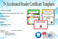 Download 7 Accelerated Reader Certificate Templates Free with Star Reader Certificate Templates
