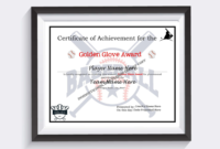 Editable Baseball And Softball Certificates Certificates pertaining to Best Baseball Achievement Certificate Templates