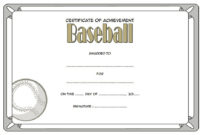 Editable Baseball Award Certificates 9 Sporty Designs Free pertaining to Amazing 7 Basketball Achievement Certificate Editable Templates