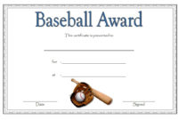 Editable Baseball Award Certificates 9 Sporty Designs Free within Table Tennis Certificate Templates Editable