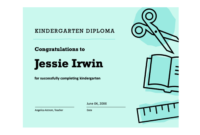 Editable Homeschool Diploma Template  Review Home Co intended for Printable Editable Pre K Graduation Certificates