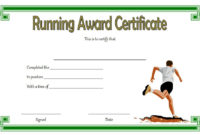 Editable Running Certificate  10 Best Options pertaining to Best Finisher Certificate Template