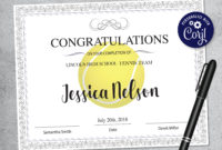 Editable Tennis Certificate Template Printable Certificate pertaining to Awesome Editable Tennis Certificates