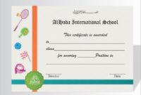 Editablenewfreedocschoolachievementcertificatein in Amazing 10 Free Printable Softball Certificate Templates