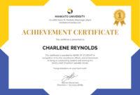 Editablenewfreedocschoolcertificate  Certificate pertaining to Best 10 Scholarship Award Certificate Editable Templates