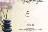 Editfreemassagegiftcertificatetemplateprintablepdf within Amazing Massage Gift Certificate Template Free Printable