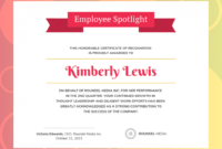 Employee Appreciation Certificate Template  Emetonlineblog for Awesome Employee Appreciation Certificate Template