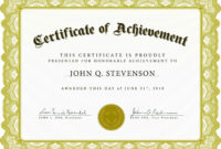 Employee Of The Month Certificate Sample  Calep within Free Funny Certificate Templates