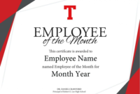 Employee Of The Year Certificate Templates This Is with regard to Best Employee Certificate Template